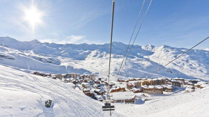 Wintersport Les 3 Vallées - Val Thorens © C. Cattin