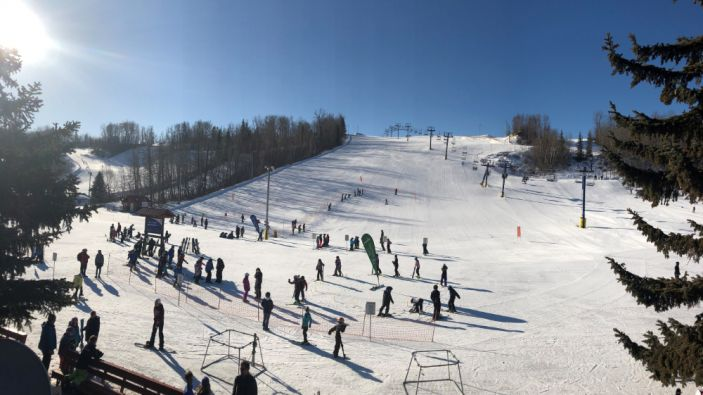 Wintersport Alberta - Rabbit Hill Snow Resort