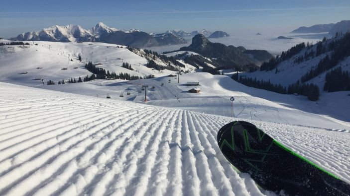 Wintersport skigebied Almenwelt Lofer