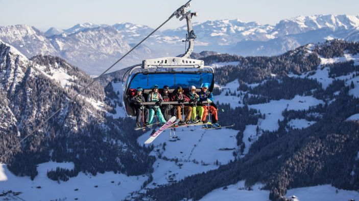 Wintersport Alpbach