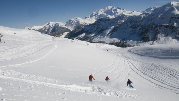 Wintersport skigebied Arêches-Beaufort