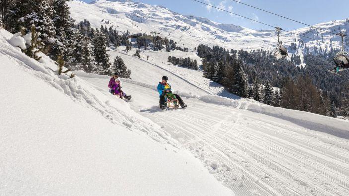 Wintersport skigebied Hochzeiger