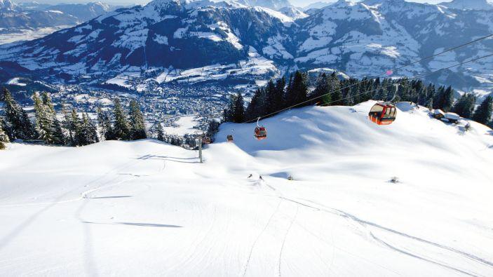 Wintersport Aurach bei Kitzbühel