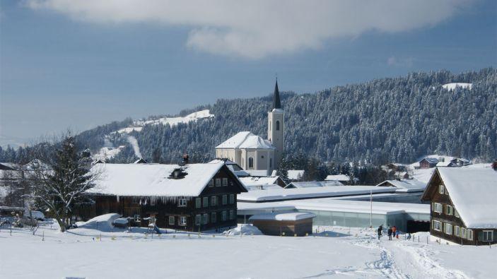 Wintersport skigebied Brüggelekopf