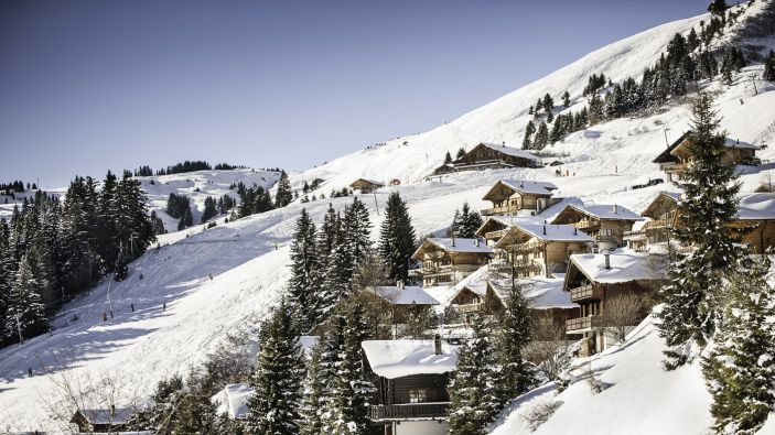 Wintersport Champoussin