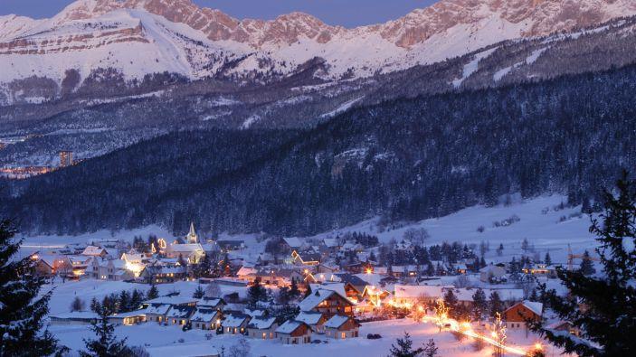 Wintersport Corrençon en Vercors