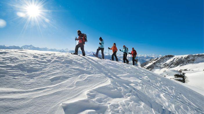 Wintersport skigebied Crans Montana