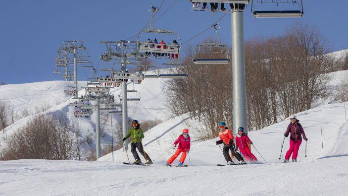 Wintersport Doucy Combelouvière