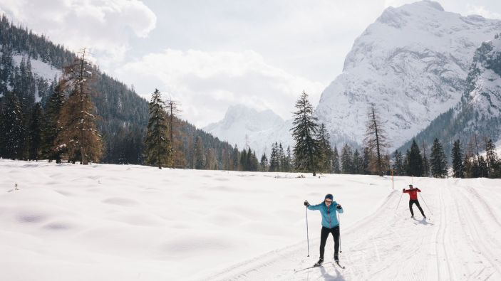 Wintersport Eben am Achensee