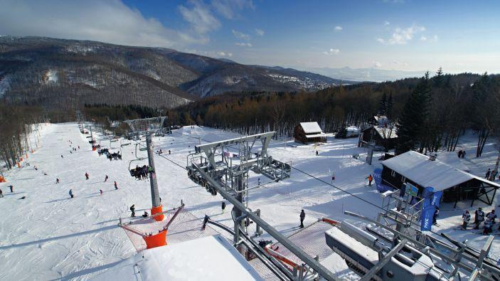 Wintersport Ertsgebergte - Skiareal Klíny