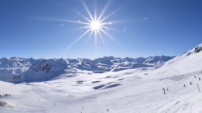 Wintersport skigebied Espace Killy