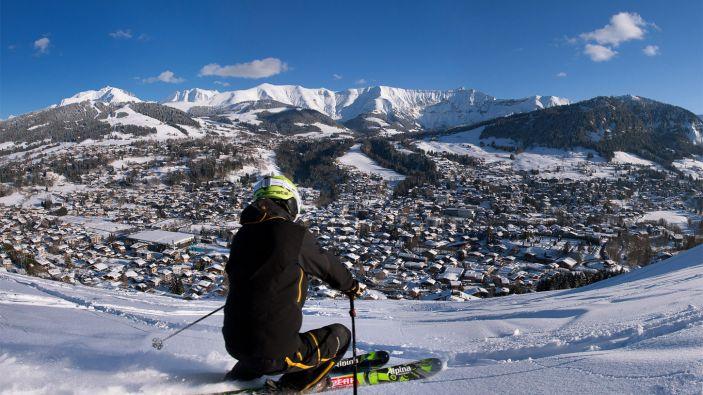 Wintersport skigebied Evasion Mont Blanc