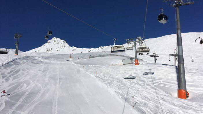 Wintersport skigebied Gargellen