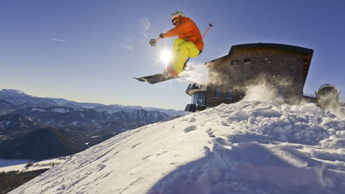 Wintersport skigebied Gemeindealpe Mitterbach