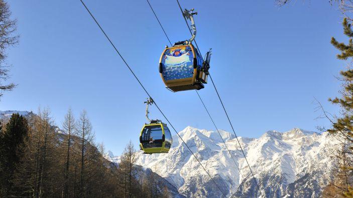 Wintersport skigebied Grächen-St. Niklaus