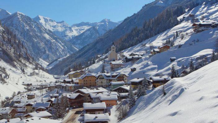 Wintersport skigebied Grossarltal