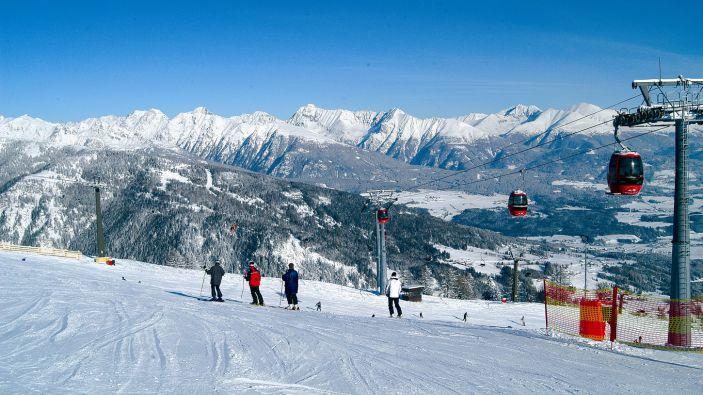 Wintersport skigebied Grosseck Speiereck