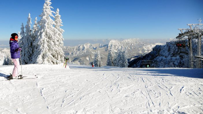 Wintersport Grünau
