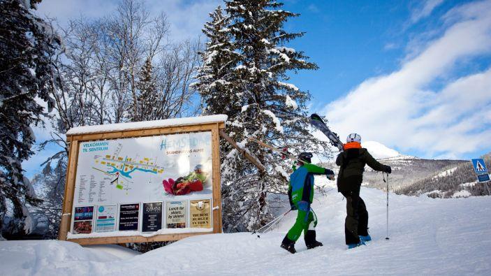 Wintersport skigebied Hemsedal. Foto: hemsedal.com