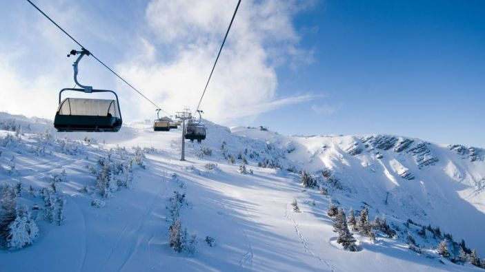 Wintersport skigebied Hochkar