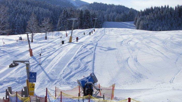 Wintersport skigebied Hollenstein an der Ybbs