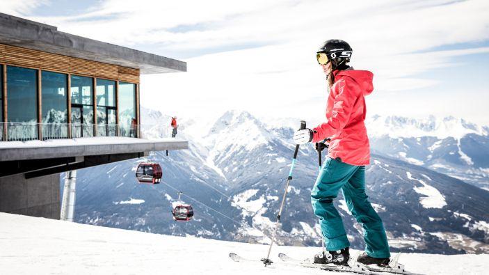 Wintersport skigebied Igls Patscherkofel