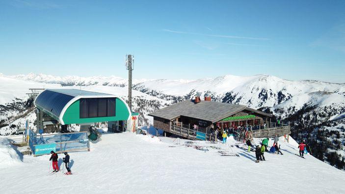 Wintersport skigebied Innerkrems - Schönfeld