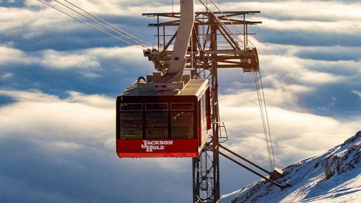 Wintersport skigebied Jackson Hole
