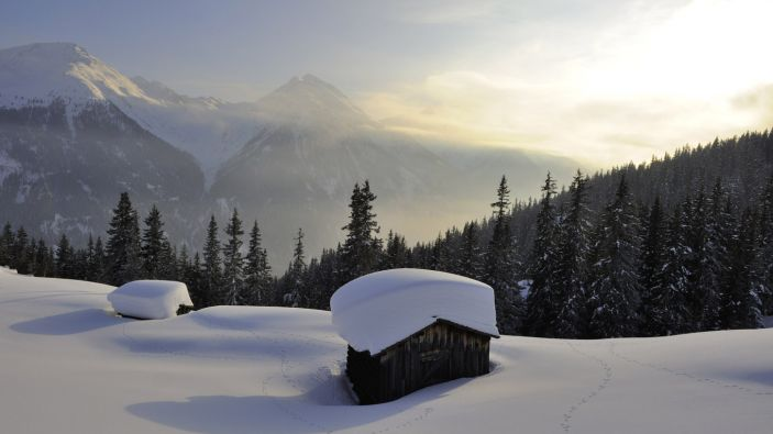 Wintersport skigebied Kappl