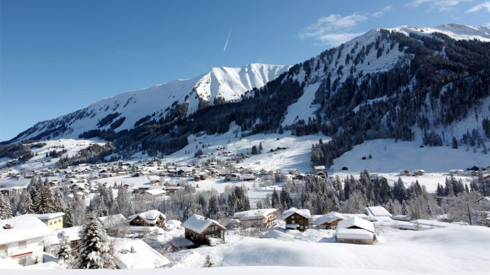 Wintersport skigebied Kleinwalsertal