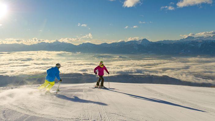 Wintersport skigebied Gerlitzen