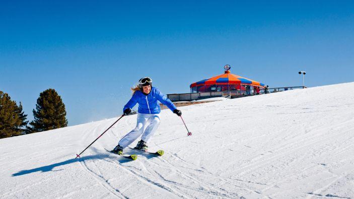 Wintersport skigebied Kreischberg