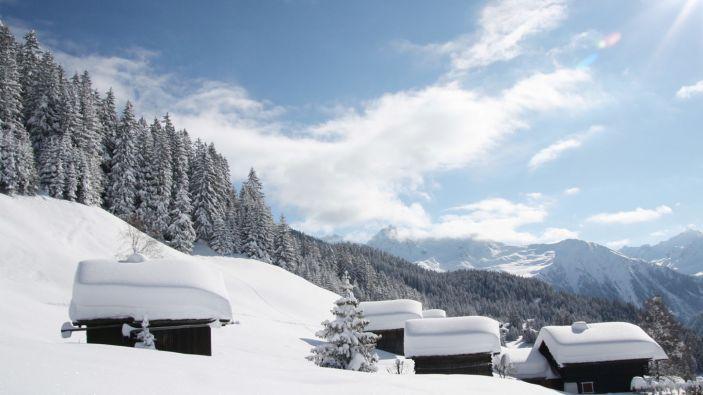 Wintersport skigebied Kristberg