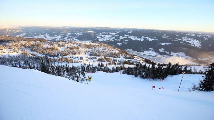 Wintersport skigebied Kvitfjell Alpine Centre