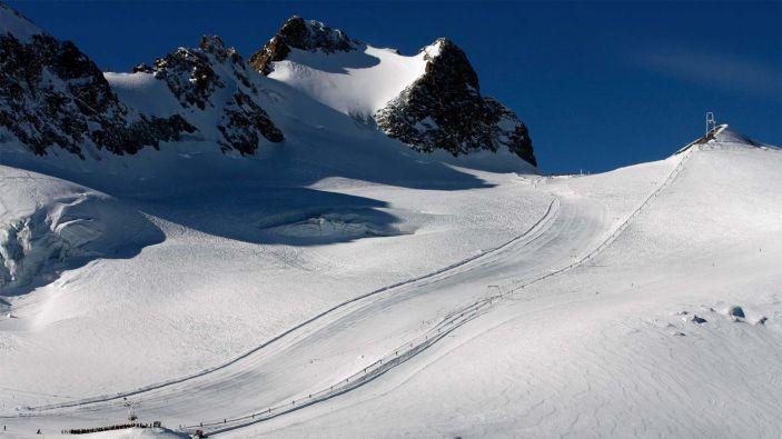 Wintersport skigebied La Grave - La Meije