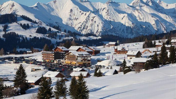 Wintersport La Lécherette