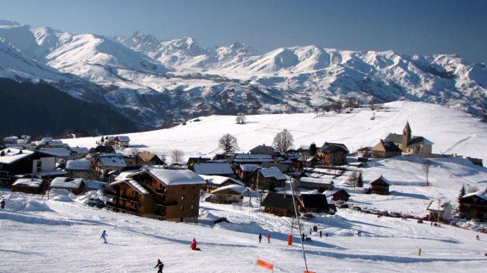 Wintersport Les Albiez - Montrond