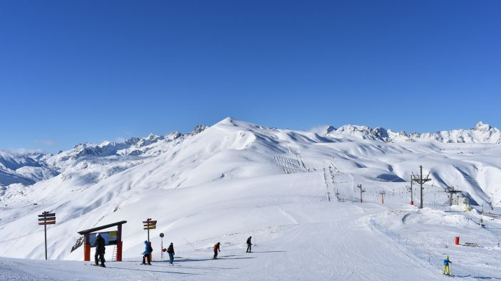 Wintersport Les Bottieres