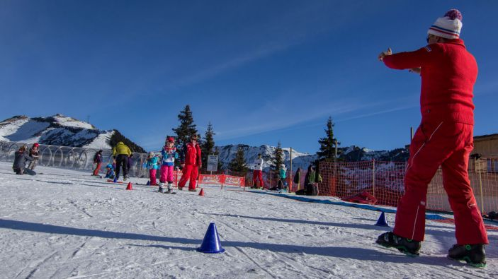 Wintersport Les Carroz