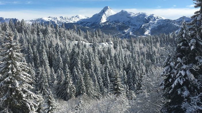 Wintersport Les Glovettes