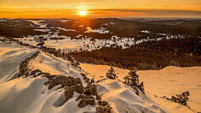 Wintersport skigebied EspaceDôle - Les Tuffes