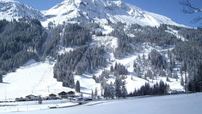 Wintersport skigebied Vitales Land - Nesselwängle