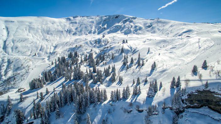 Wintersport Notre Dame de Bellecombe - Mont de Vores