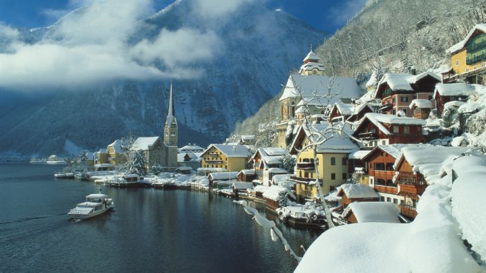 Wintersport Oberösterreich - Hallstatt