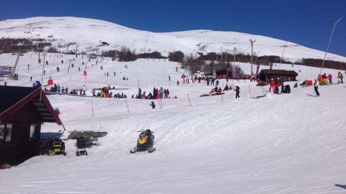 Wintersport skigebied Oppdal Skisenter