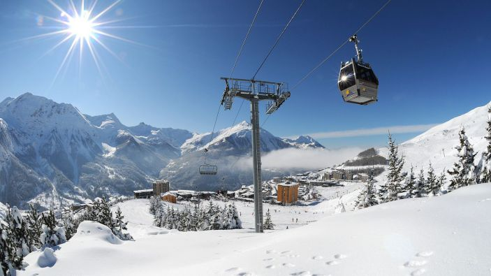 Wintersport Orcières-Merlette