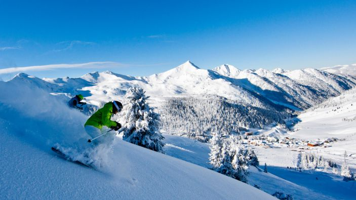 Skigebied wintersport Planneralm Donnersbach
