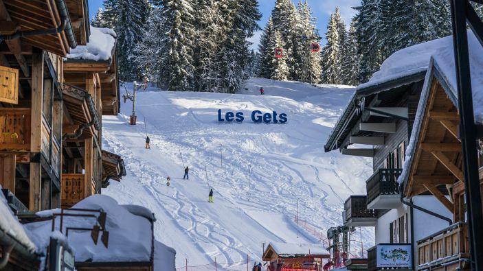 Wintersport skigebied Portes du Soleil