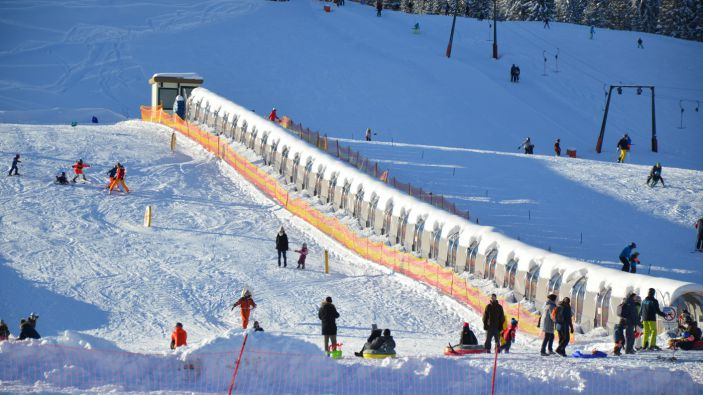 Wintersport Skigebied Winterpark Postalm