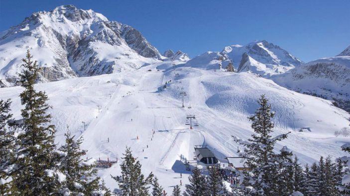 Wintersport skigebied Pralognan la Vanoise